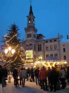 Lichtereinzug in Oelsnitz