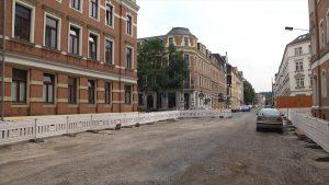 Moritzstraße wird noch vor Weihnachten frei gegeben