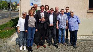 Pecher bleibt Zwickauer SPD-Chef
