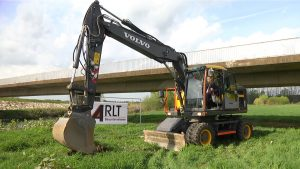 Baustart für neue Muldenbrücke in Schlunzig