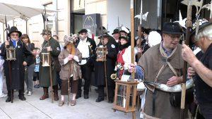 Nachtwächtergilde gratuliert zum Zwickauer Stadtjubiläum