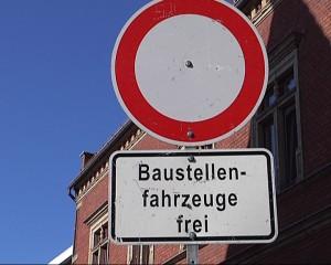 +++Ziegelstraße gesperrt+++