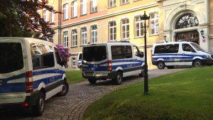 Bedrohung am Gymnasium – zwei Verdächtige festgenommen