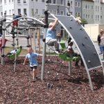Bahnhofsvorstadt hat jetzt hochmodernen Spielplatz