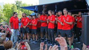 Hauptsponsor ZEV präsentiert FSV-Team 2018/19