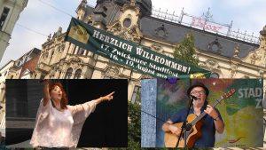 Wiedersehen mit Regina Thoss und Gerhard Schöne am Stadtfestsamstag