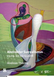 """Abstrakter Surrealismus"" lädt in Domhofgalerie ein"