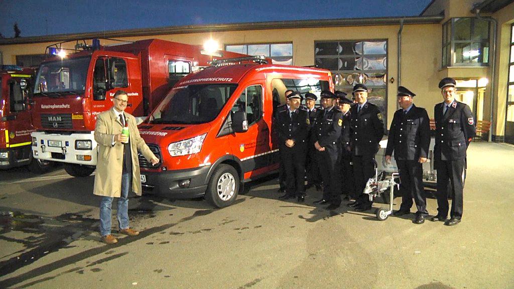Feuerwehr Reichenbach erhält neues Einsatzleitfahrzeug