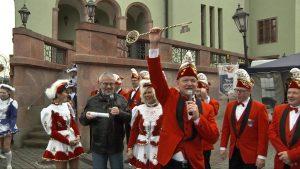 Narren übernehmen Rathaus in Wilkau-Haßlau