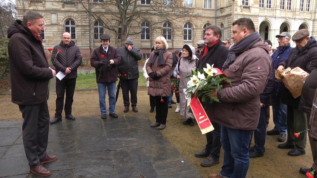 Luxemburg-Ehrung anlässlich ihres 100. Todestages