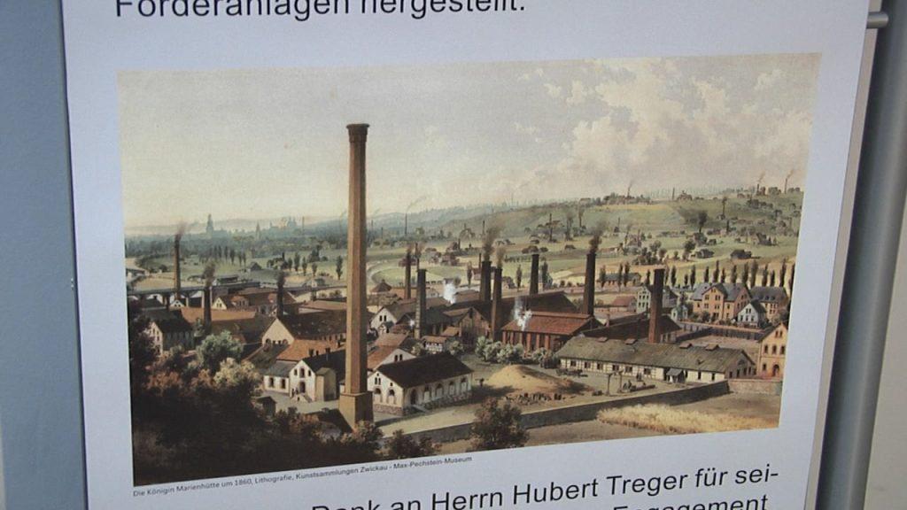 """Ausstellung zu """"180 Jahre Königin Marienhütte in Cainsdorf"""""""