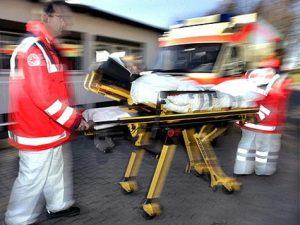 Verkehrsunfall mit 3 verletzten Personen